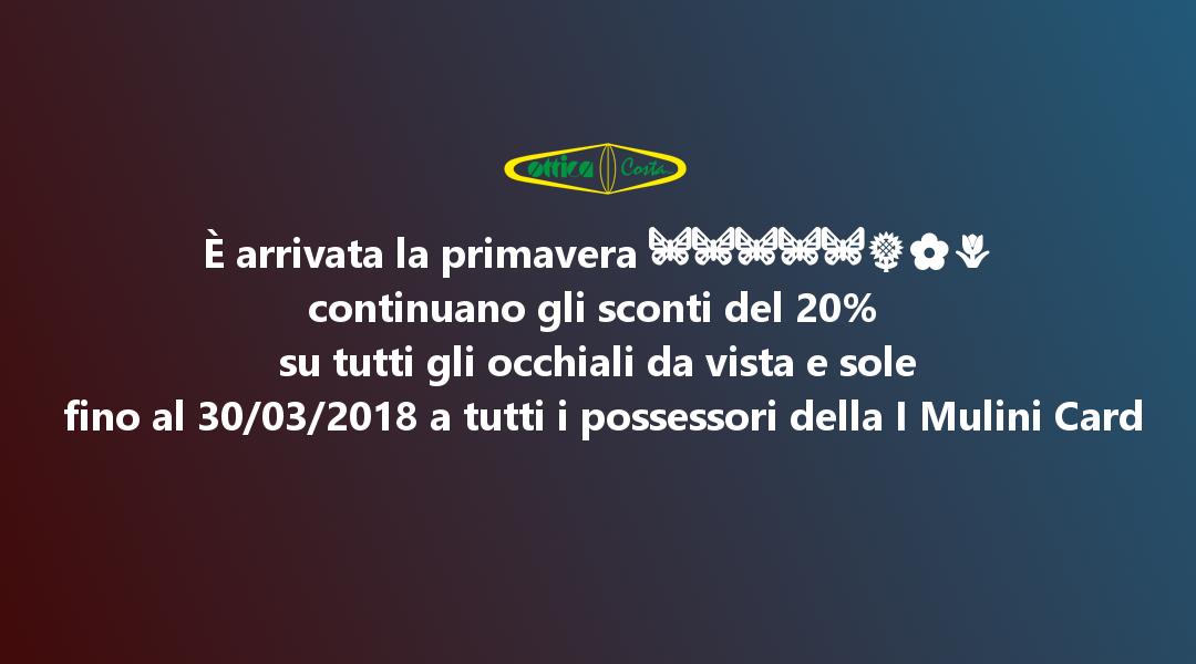 Offerta Ottica Costa